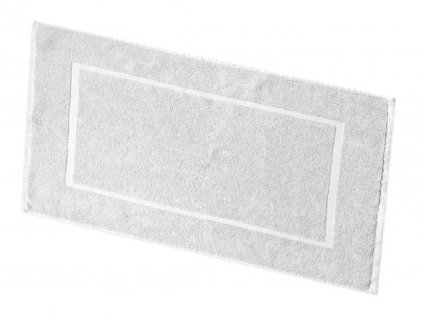 Koupelnová předložka froté - bílá  408