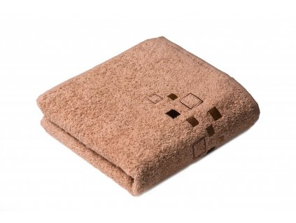 Béžový Froté ručník DENIS 50/100 cm