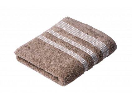 Béžový Froté ručník Roxy 50/100 cm