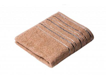 Béžový froté ručník Zara 50/100 cm