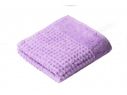 Fialový Froté ručník Carin 50/100 cm