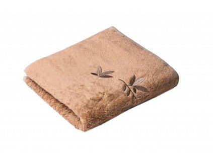 Béžový Froté ručník KONGO 50/100 cm