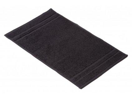 Černý Froté ručník EMA 30/50 cm