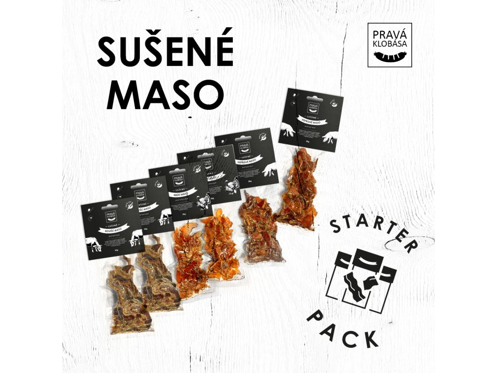 1080x1080 Sušené maso starter pack