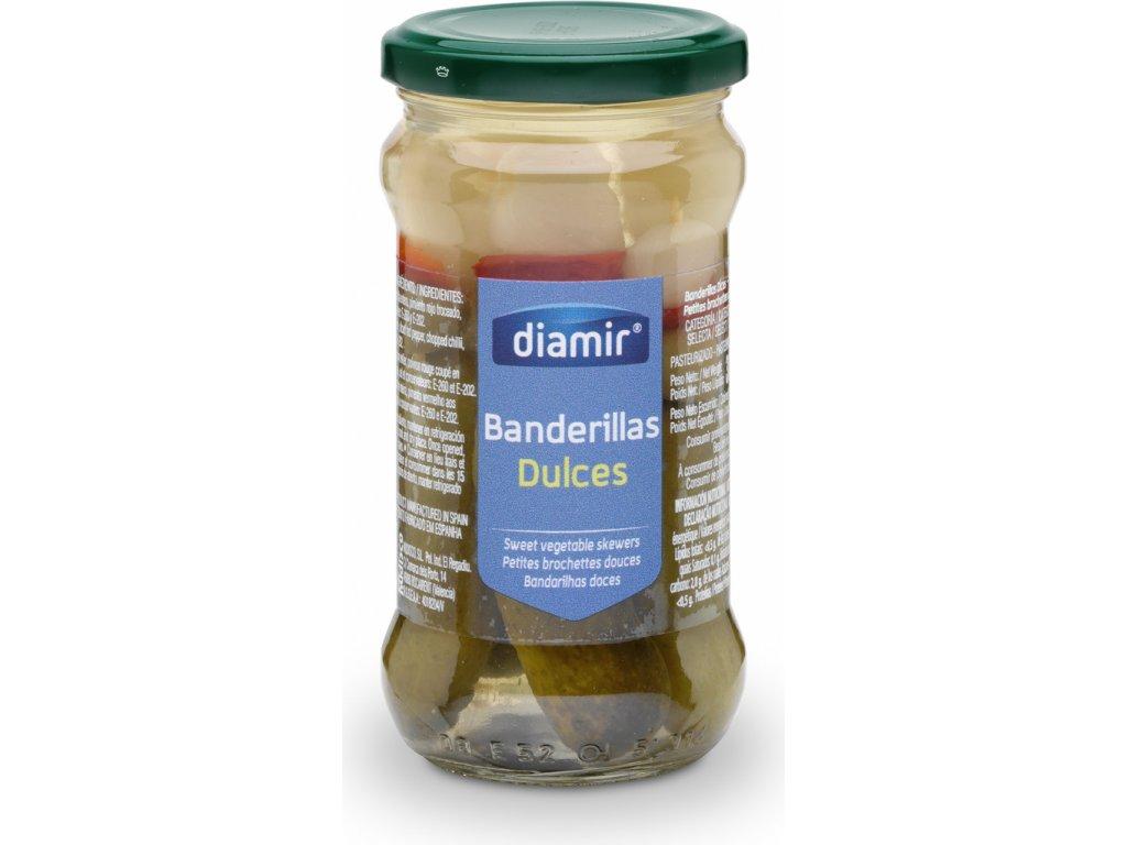 banderillas nakládáná zelenina lahodná