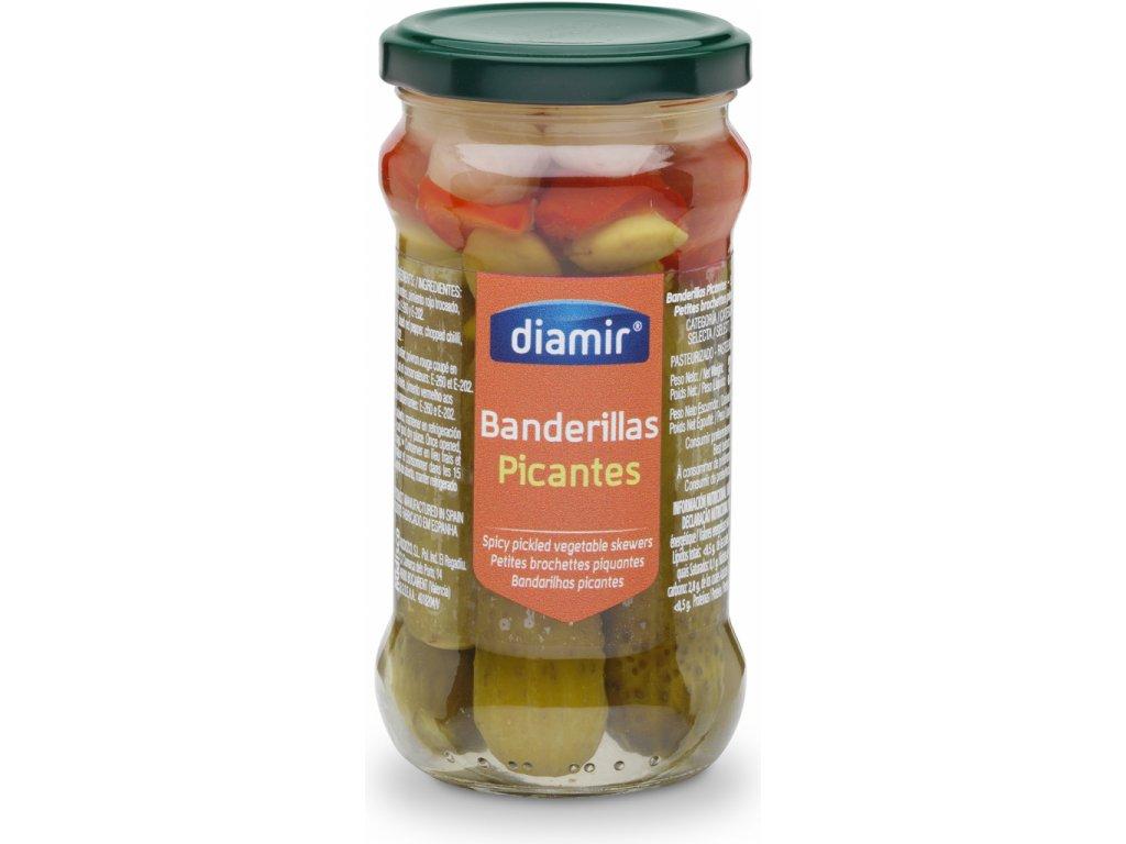 banderillas nakládáná zelenina pikant