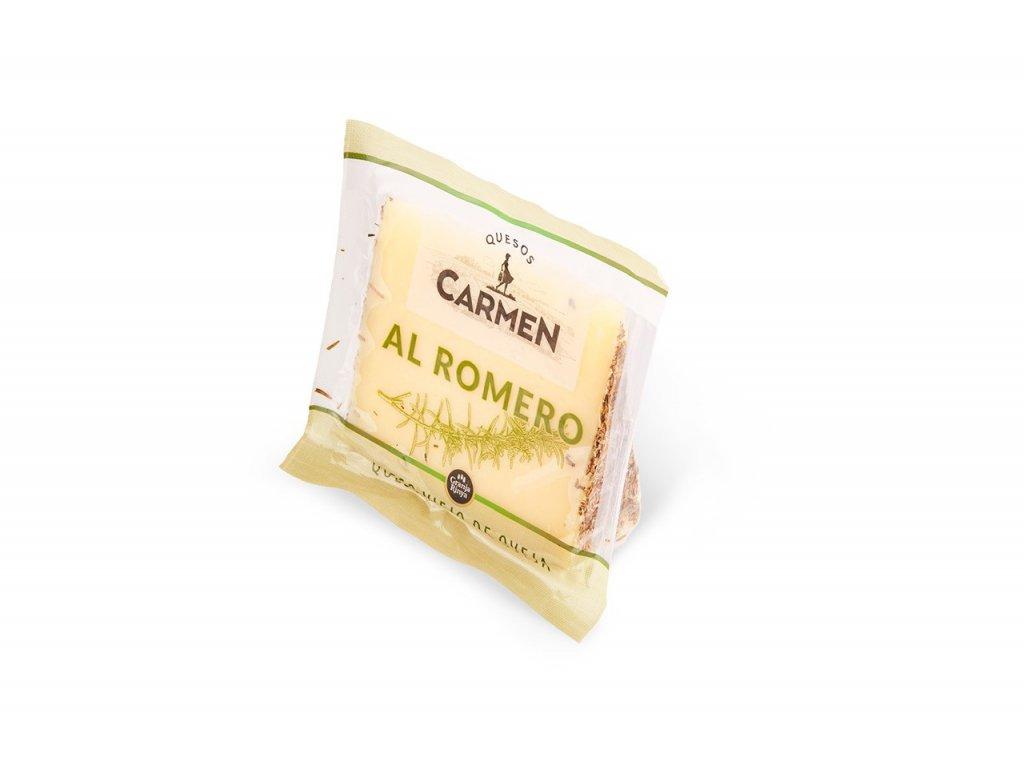 cuña queso al romero carmen