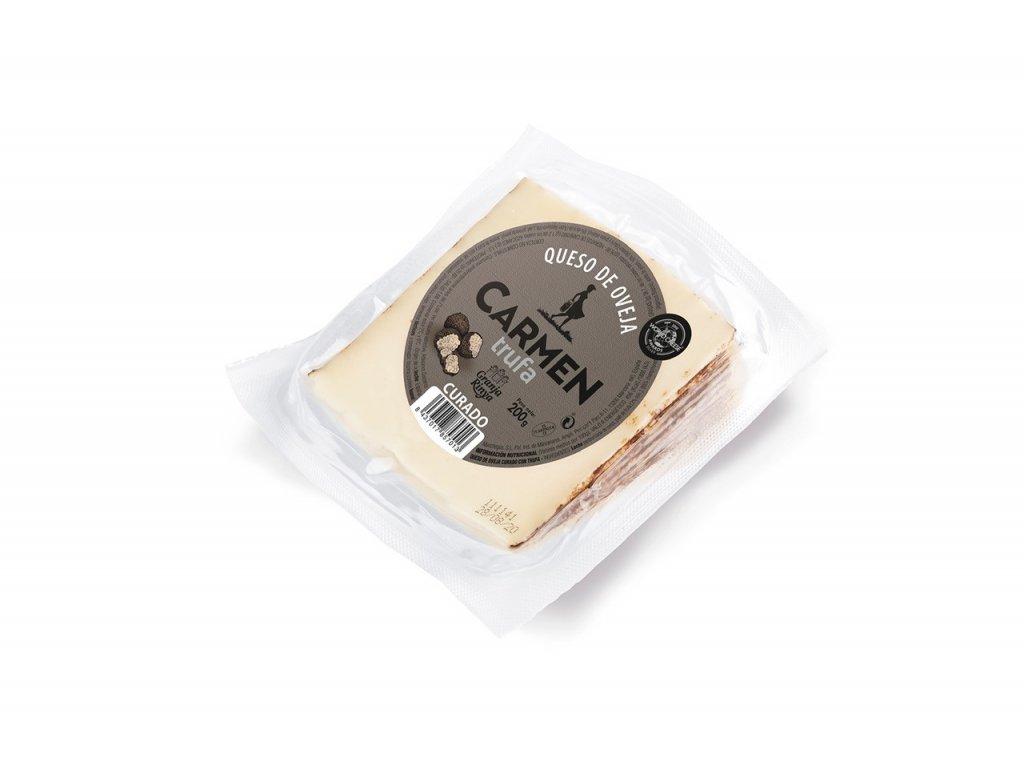 cuña queso de oveja con trufa carmen