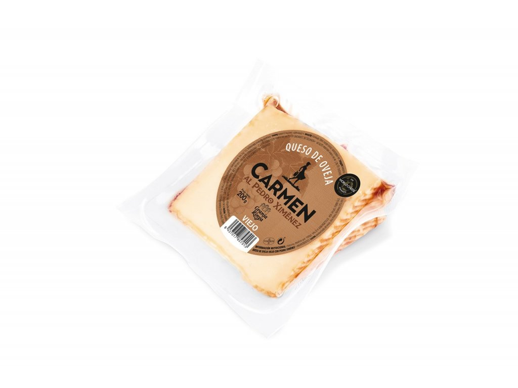cuña queso de oveja al pedro ximenez carmen