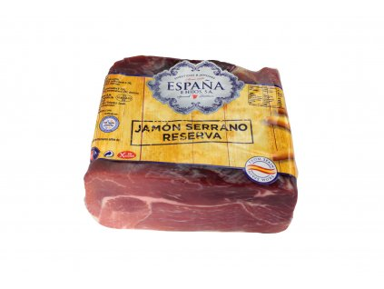 02202p Centro Jamon Reserva Limpio Mitades Moldeado