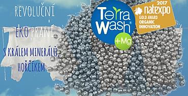 TERRAWASH+Mg - Jak se pere s magnéziovými kuličkami?-PraveBIO.cz
