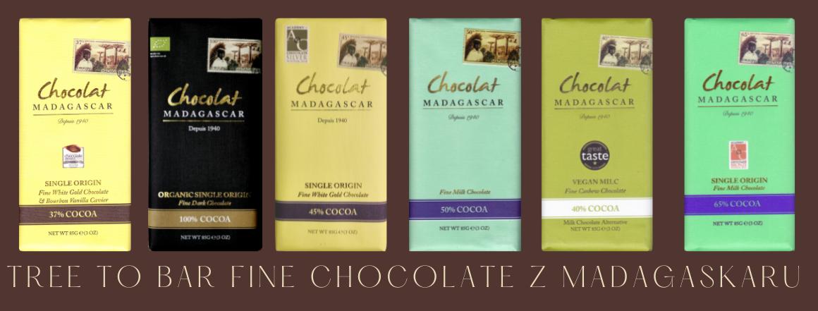 Fermentované CHOCOLAT MADAGASCAR - Luxusní čokolády z Madagaskarus medicinálními houbami