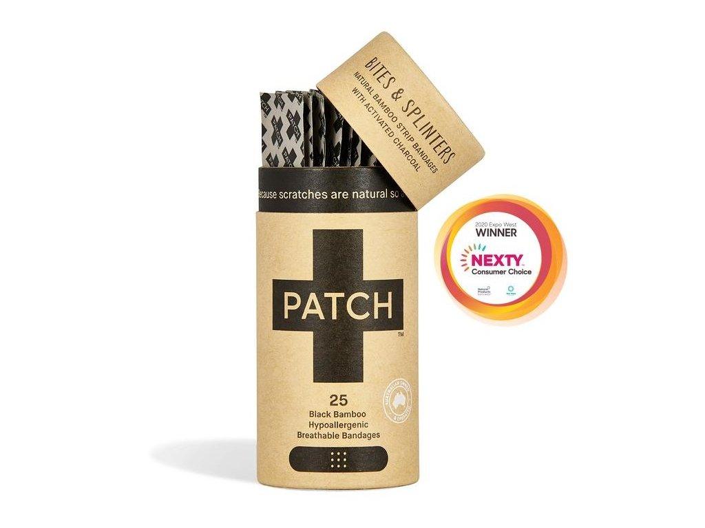 PATCH -  Bambusové náplasti s aktivním uhlím [25 ks]