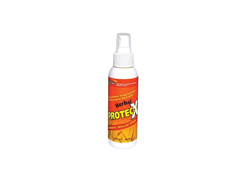 North American Herb & Spice - Aromatický Repelent proti hmyzu a klíšťatům -  HERBAL PROTEC-X 120 ml
