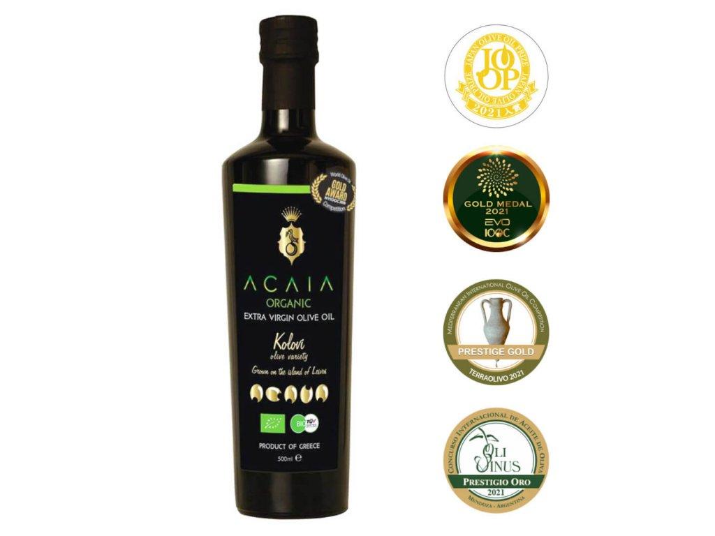 Acaia - BIO Extra Panenský Olivový Olej [500 ml]