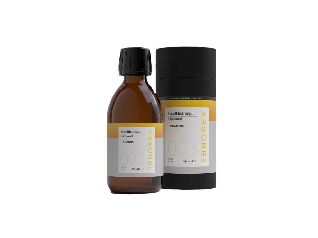 HEALTHSTRONG - Lipozomální doplněk výživy - VITAMÍN D3