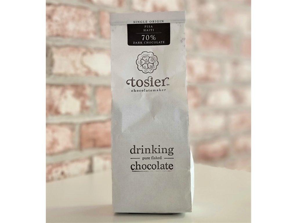 Horká čokoláda 70% KAKAO - HAITI   TOSIER CHOCOLATEMAKER