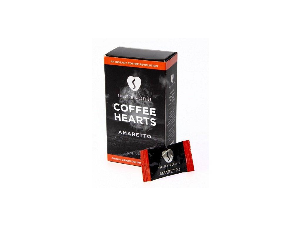 SHELTON'S COFFEE  - Přírodní instantní káva s příchutí Amaretto