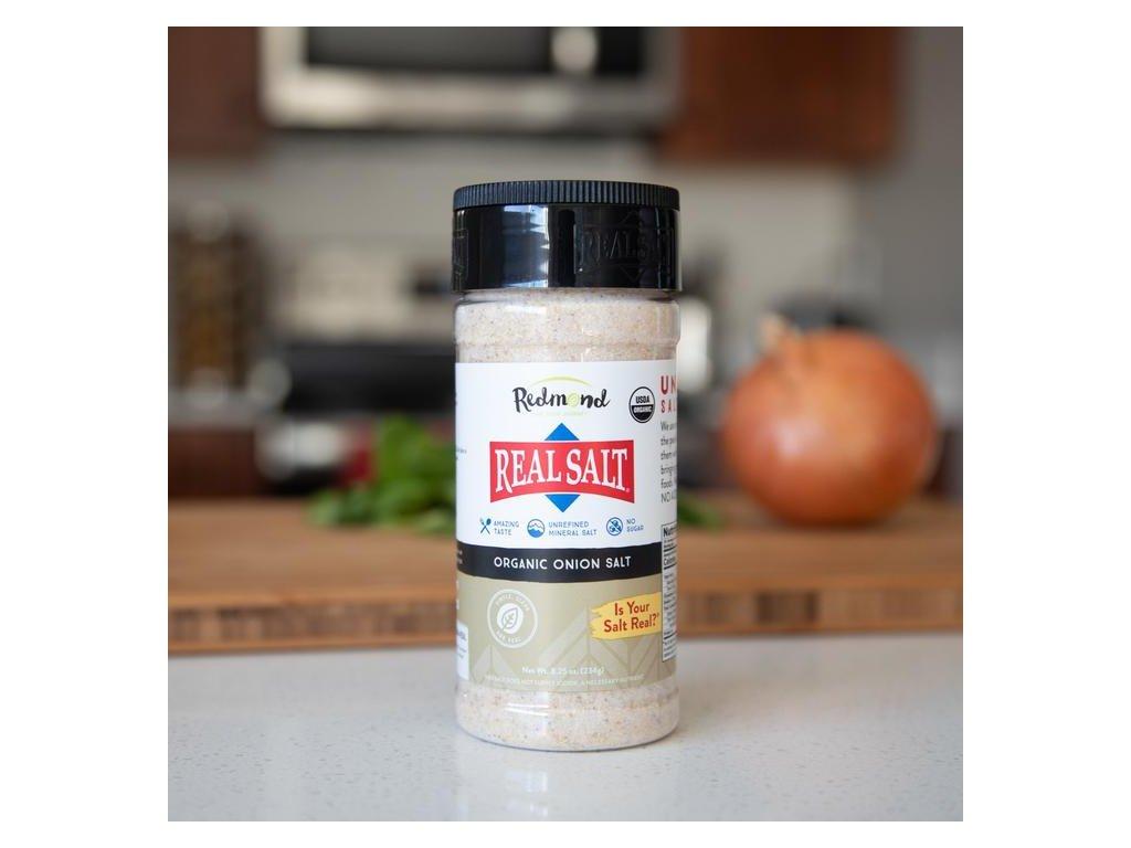 REDMOND Real Salt™ - Mořská sůl z Utahu - s BIO sušenou CIBULÍ