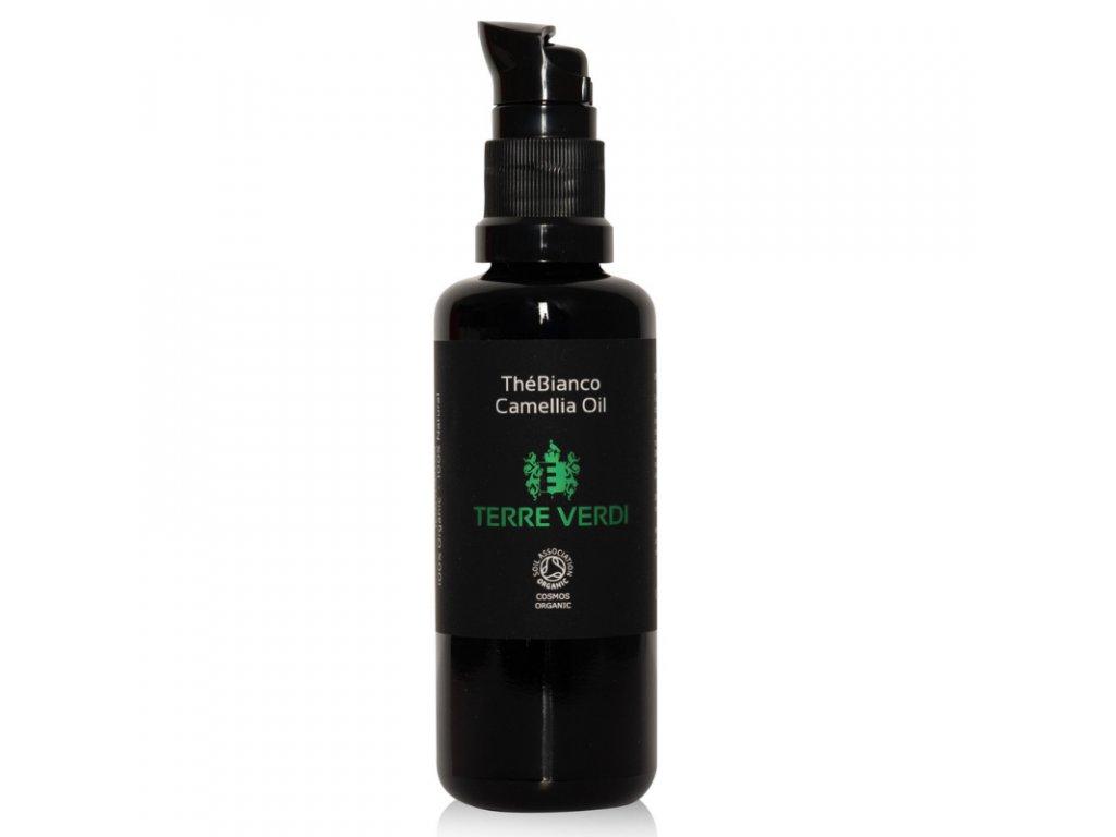 TERRE VERDI THÉ BIANCO - Certifikovaný BIO Čajovníkový olej pro citlivou pleť, 50ml