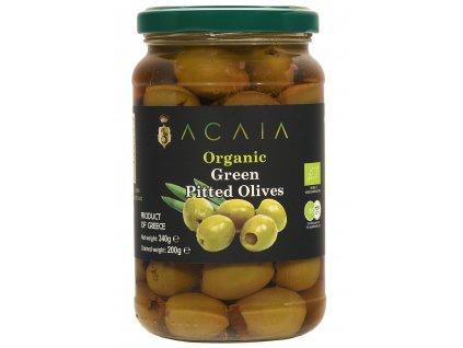 ACAIA - Prémiové Zelené Olivy HALKIDIKI