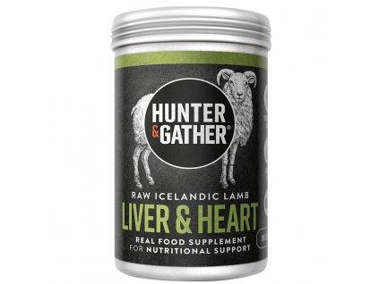 HUNTER & GATHER - Jehněčí játra, srdce & divoké bylinky pro orgánovou výživu [90 tobolek]