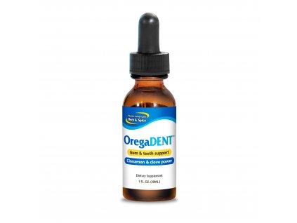 North American Herb & Spice - OregaDENT - Aromatické kapky pro zdravé dásně a chrup [30ml]