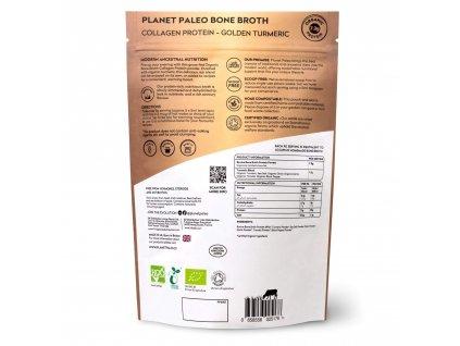 PLANET PALEO - BIO Sušený hovězí vývar s kurkumou - Collagen protein GOLDEN TURMERIC