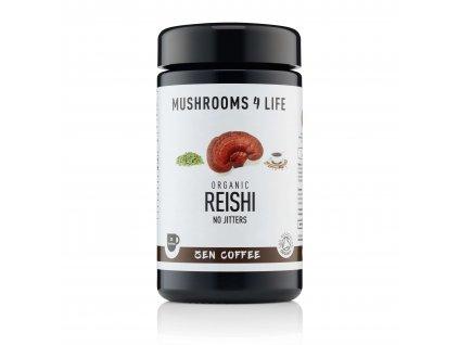 MUSHROOMS4 Life - Mletá káva ze Sumatry s houbou reshi, vanilkou a kardamomem
