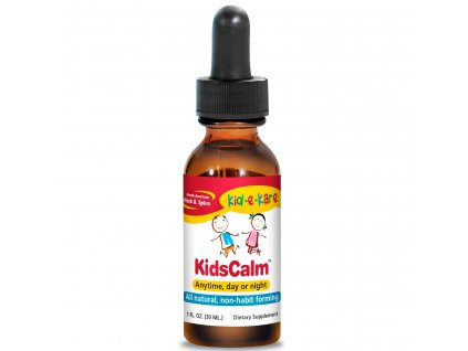 NORTH AMERICAN HERB & SPICE - Zklidňující kapky s chmelovým výtažkem - KIDS-CALM - pro děti [60 ml]