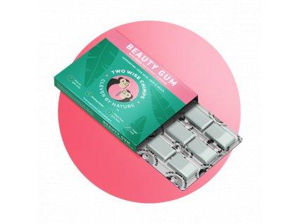 TWO WISE CHIMPS - Žvýkačky pro krásnou pleť a vlasy