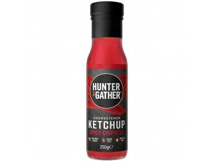 HUNTER & GATHER - Rajčatový kečup bez cukru a sladidel - SPICY CHIPOTLE [250g]
