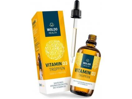 WOLDOHEALTH - Vitamín D3 2000 I.U.