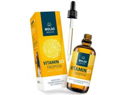 WOLDOHEALTH - Vitamín D3 1000 IU