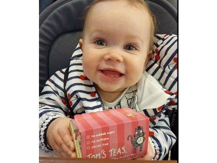 Ovocný čaj pro děti s příchutí třešňového koláče - CHERRY PIE   TOM'S TEAS
