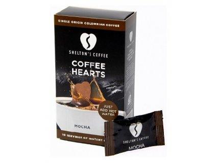 SHELTON'S COFFEE - Přírodní instantní Mocha káva