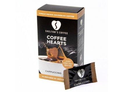 SHELTON'S COFFEE - Přírodní instantní káva s příchutí Cappuccino