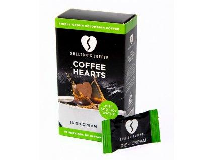 SHELTON'S COFFEE - Přírodní instantní káva s příchutí Irish Cream