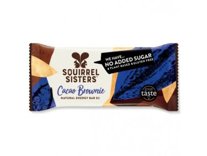 RAW Tyčinky s příchutí brownie | SQUIRREL SISTERS