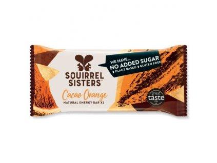 RAW Tyčinky s příchutí čokolády a pomeranče | SQUIRREL SISTERS
