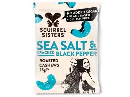 Pražené kešu s mořskou solí a černým pepřem | SQUIRREL SISTERS