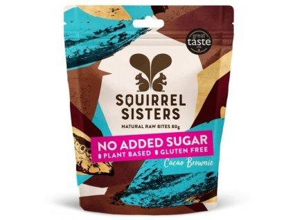 RAW Čokoládové brownie kousky | SQUIRREL SISTERS