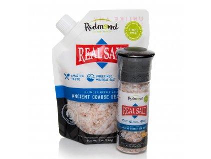 REDMOND Real Salt™ - Mořská sůl z Utahu - COARSE [Hrubě mletá]