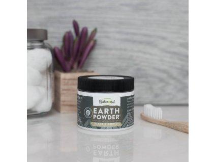 EARTHPowder - Přírodní Zubní Prášek BLACK LICORICE CHARCOAL [51g]