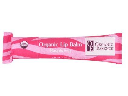 ORGANIC ESSENCE LIP BALM - Hydratační pomáda na rty s příchutí maliny