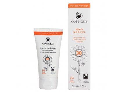 ODYLIQUE - Opalovací krém SPF 30 pro citlivou pokožku