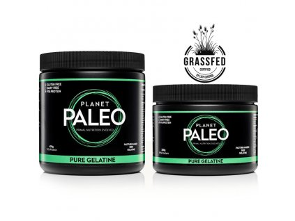 PLANET PALEO - Hovězí želatina z hydrolyzovaného kolagenu