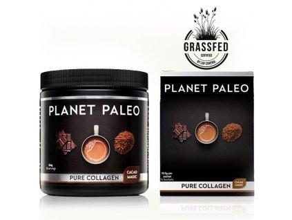 PLANET PALEOC- Kolagenový nápoj s horkou čokoládou - CACAO MAGIC