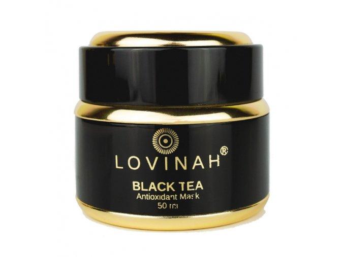 LOVINAH BLACK TEA MASK - Antioxidační Čistící Maska pro všechny typy pleti