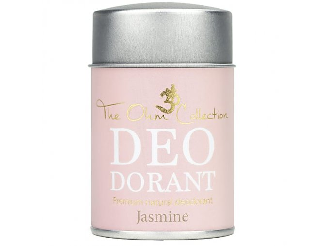 THE OHM COLLECTION - Pudrový Deodorant JASMINE 120g